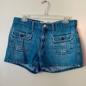 GAP Denim Shorts • Size 8 • Vintage